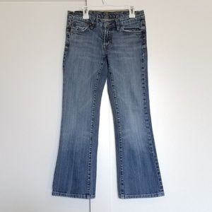 7 For All Mankind Low Rise Bootcut Jeans
